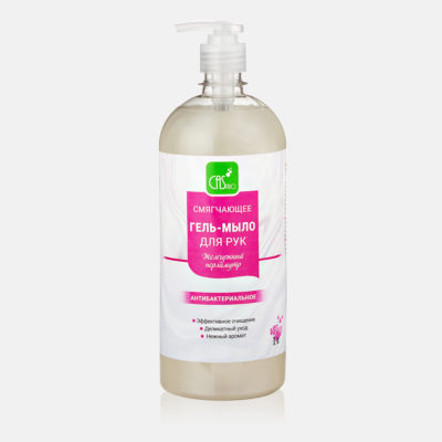 Смягчающее гель-мыло для рук с перламутром PH 7-7.5