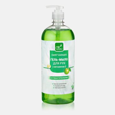 Смягчающее гель-мыло для рук с ароматом яблока PH 7-7.5